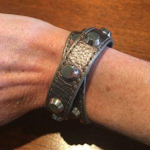 Michael Kors leather bracelet / choker